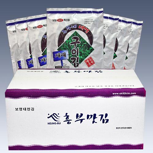 재래구이김30봉1박스